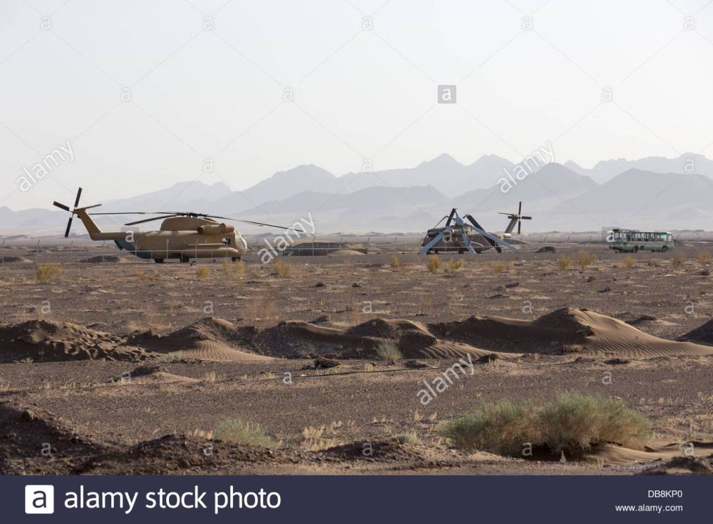 american-services-operation-eagle-claw-abandoned-and-wrecked-helicopters-DB8KP0